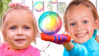 Мыльные пузыри - Детская песня. Песни для детей от Маши и Майи