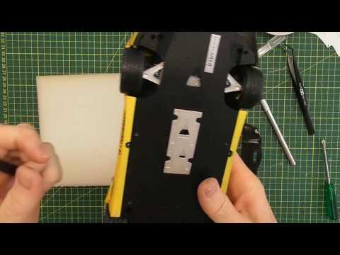 HOW TO BUILD THE HOBBY DESIGN LB AVENTADOR PART 8 - Aero, final assembly to finish