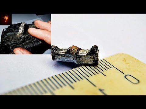 Alien Alloy Found In Russian Coal?
