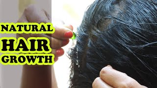 HOW TO GROW LONG AND THICKEN HAIR NATURALLY AND FASTER  | HAIR GROWTH OIL | HAIR FALL TREATMENT