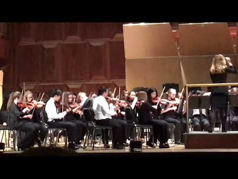 Performed Carmen Suite 3rd Movement with HYSO