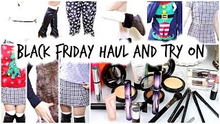 BLACK FRIDAY HAUL 2014 AND TRY ON!!!