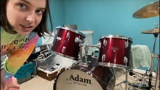 I got a drumset