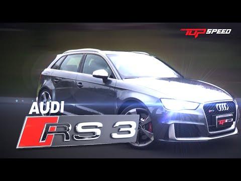 Avaliação Audi RS3 2.5 T (Canal Top Speed)