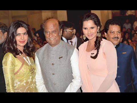 Padma Awards 2016 : Rajinikanth, Priyanka Chopra, Sania Mirza Receives Top Honors