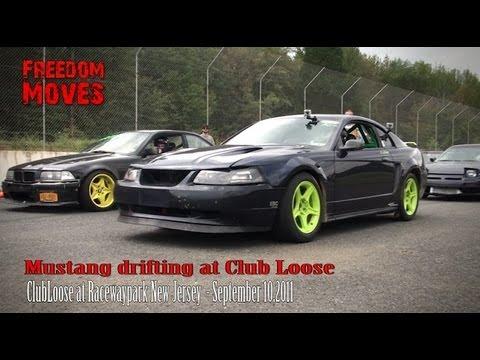 Mustang Drifting At Club Loose Youtube