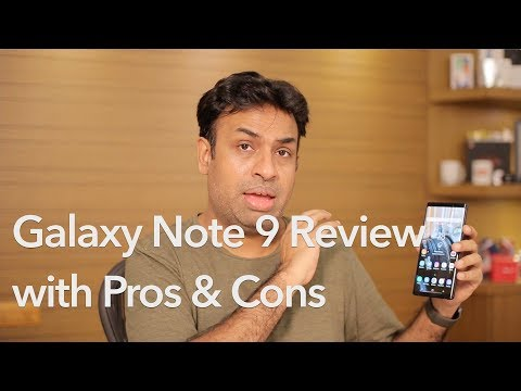 Samsung Galaxy Note 9 Review with Pros & Cons - Almost Perfect?