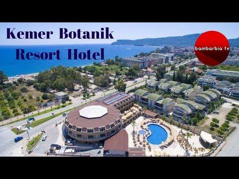 Отдых в Турции 2019. Обзор отеля Kemer Botanik Resort Hotel