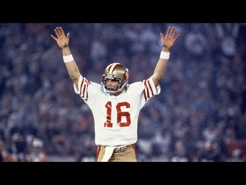 Joe Montana Top 5 Moments - highlights