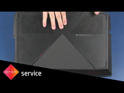 Remove and Replace the Base Enclosure | OMEN by HP 17-an0xx | HP