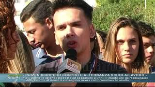 Augusta - Ruiz in sciopero contro l'alternanza scuola/lavoro