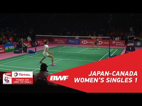 T&U Cup - C1 - JAP-CAN - MATCH 01 | BWF 2018
