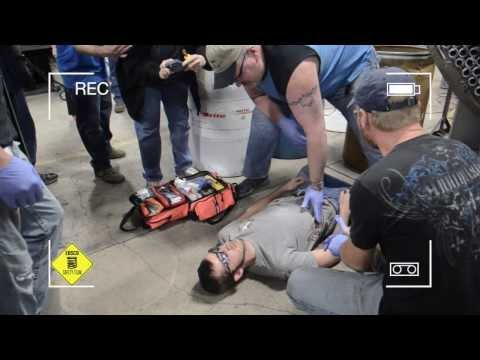 First Responder Training at EBSCO Spring Manufacturing Company