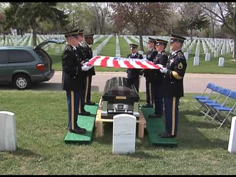 Minnesota Funeral Honors Training For Casket Sequence Youtube