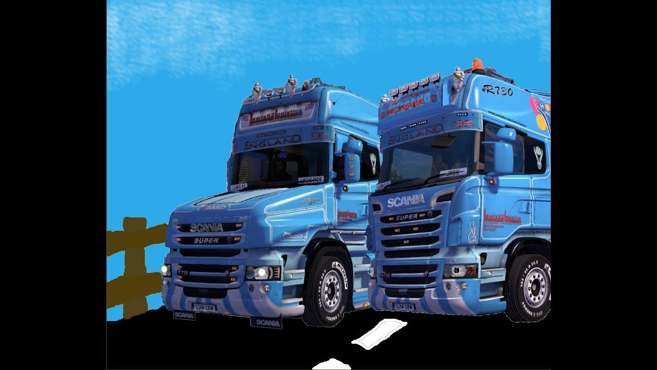 euro truck simulator 2 episode 159 adding some new trucks youtube. Black Bedroom Furniture Sets. Home Design Ideas