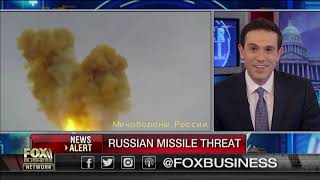 Russia says new missile flies 27 times faster than the speed of sound