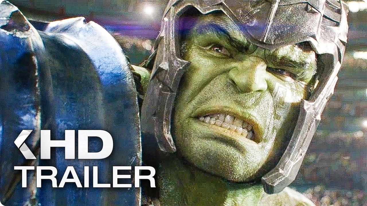 "THOR 3: Ragnarok ""Hulk vs. Thor"" Clip & Trailer (2017)"