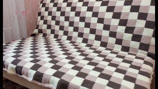 красивый ПЛЕД крючком / Crochet Plaid Blanket