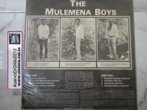 The Mulemena Boys- from Zambia-Africa-rare material- first music side A of the LP -NAVULUKA