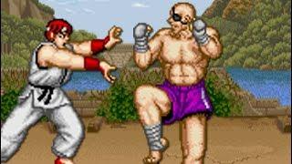 Street Fighter (Arcade) All Bosses (No Damage)