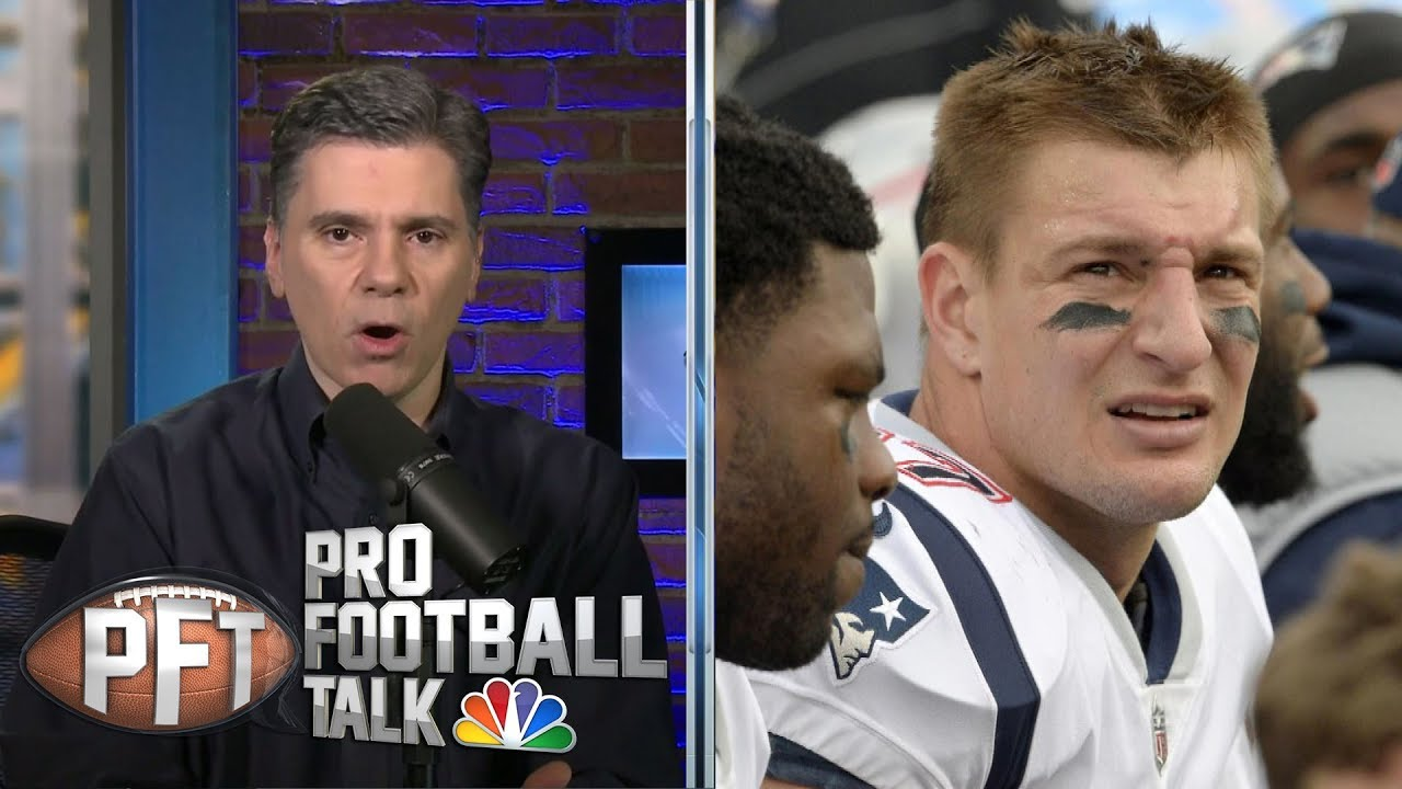 Rob Gronkowski responds to reported trade news I Pro Football Talk I NBC Sports