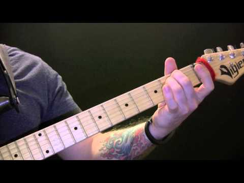 Michael Jackson Give In to Me Guitar Lesson - How To Play Give In to Me On Guitar