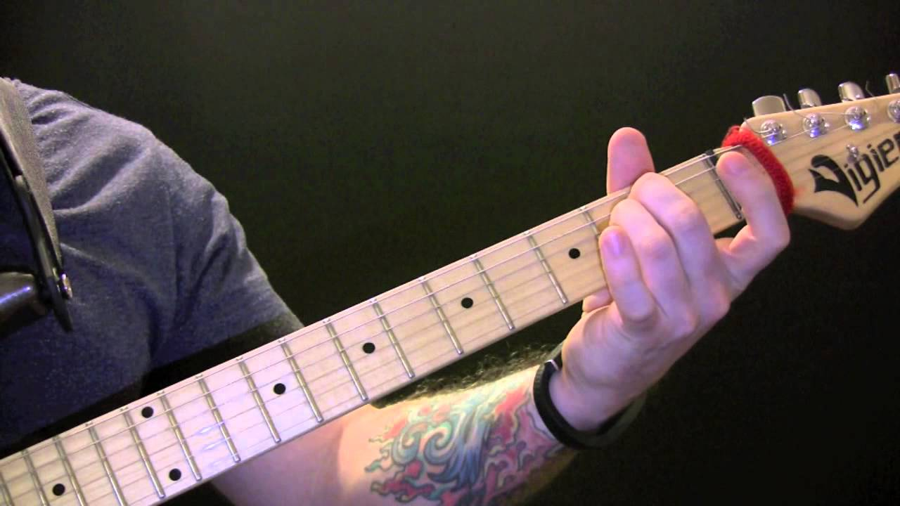 Michael Jackson Give In To Me Guitar Lesson How To Play Give In To