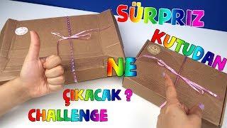 Kutudan Ne Çıkarsa  Sürpriz Challenge! Pembe Çarşım Bidünya Oyuncak