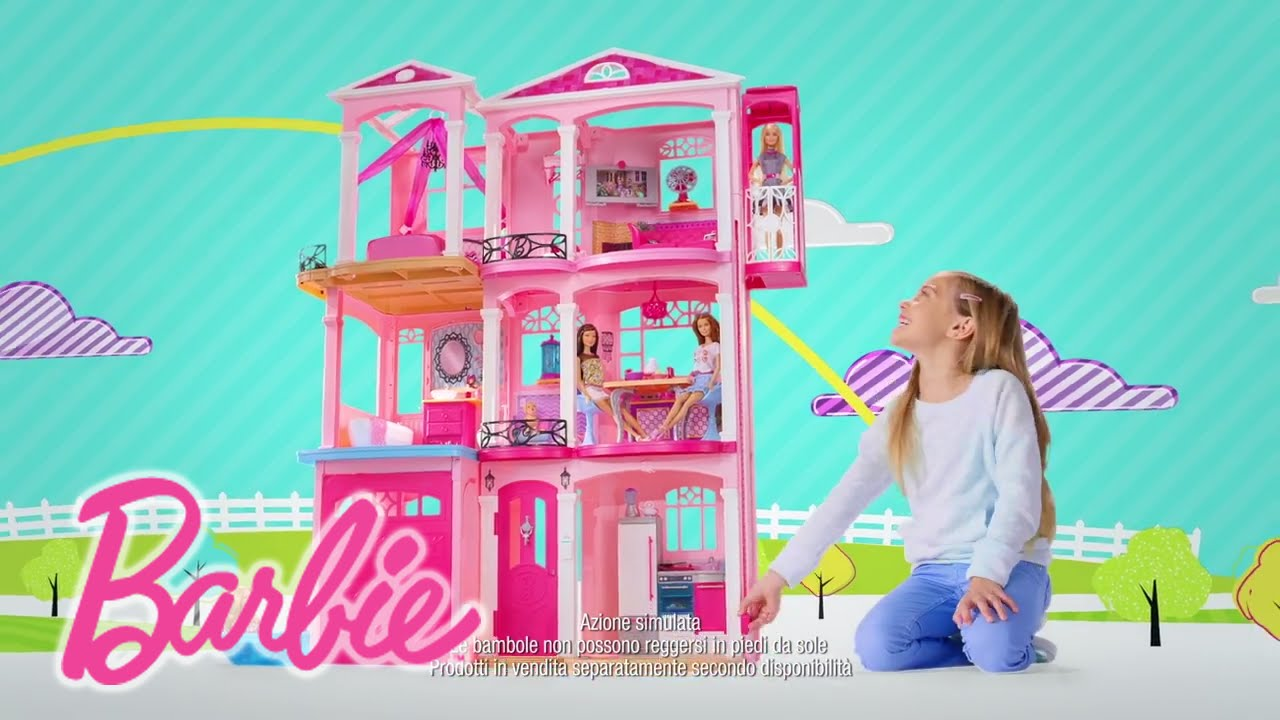 La casa dei sogni di barbie barbie youtube for Casa di barbie youtube