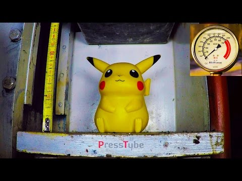 Thumbnail: Hydraulic Press | Pokemon Go | Gotta Crush Them All !!!