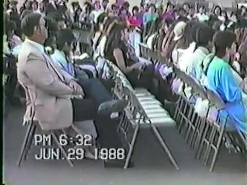 "Lennox Middle School ""Class of 1988"" Graduation"