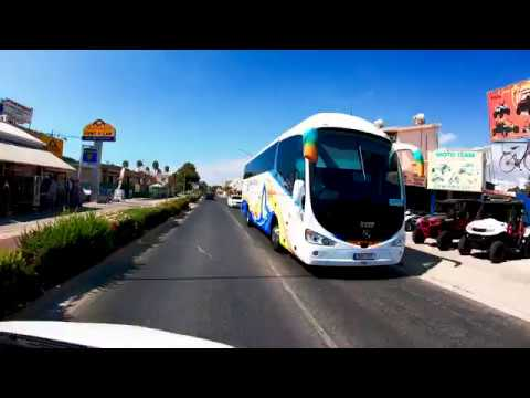 New video by Gopro Hero 7 Black - Ayia Napa Car Ride - Main Street to the Beach. UHD 4k + Luts