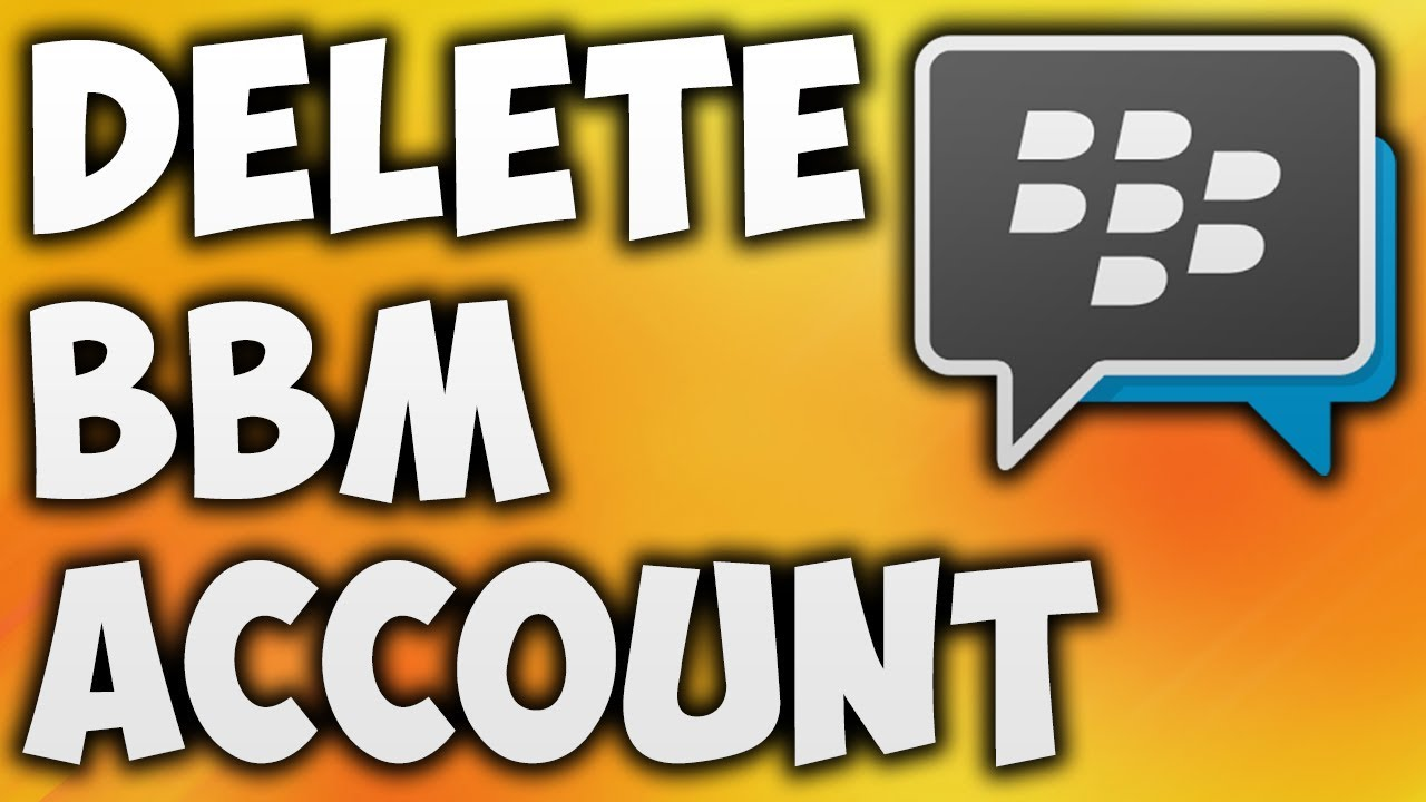 How to delete bbm account permanently the easiest way to remove or how to delete bbm account permanently the easiest way to remove or deactivate blackberry id reheart Choice Image