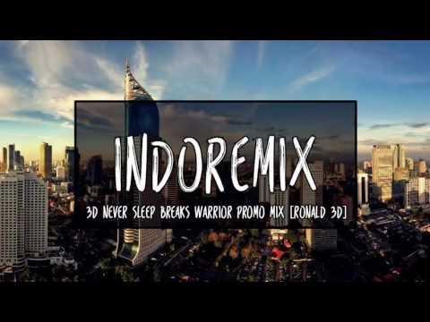 3D Never Sleep Breaks Warrior Promo Mix [Ronald 3D] - Breakbeat Remix