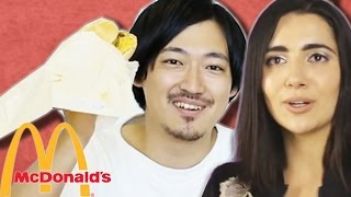 People From Around The World Try McDonald's For The First Time