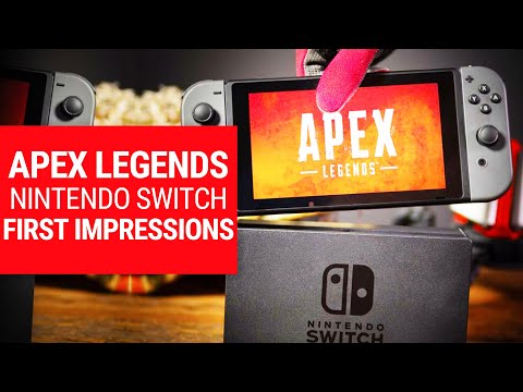 Is the Apex Legends Switch port too ambitious for the handheld?