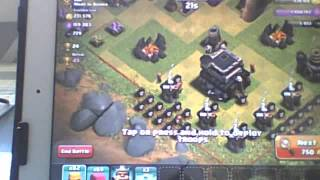 Clash of Clans barb king town hall 9 and almost got dragons ep 5. xox!!!!!!!!! (coc)