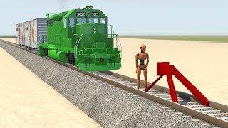 Train Misfortunes #1 - beamng drive