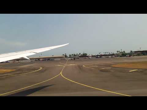 Ethiopian Airlines B787 dreamliner  takeoff Libreville to Addis Abeba