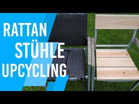 gartenstühle-aus-rattan-aufarbeiten/reparieren-|-rattanmöbel-einfach-restaurieren-|-diy