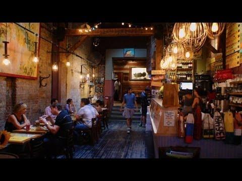 The Grey Dog Café, Mulberry Street, New York