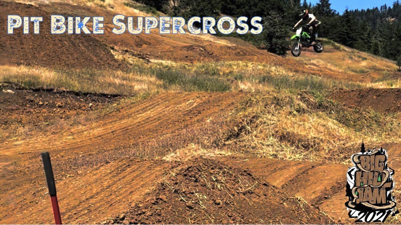 Big Hill Jam Pit Bike Sx Track