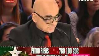 Portugal Tem Talento 6ª Semi Final - Pedro Ribas