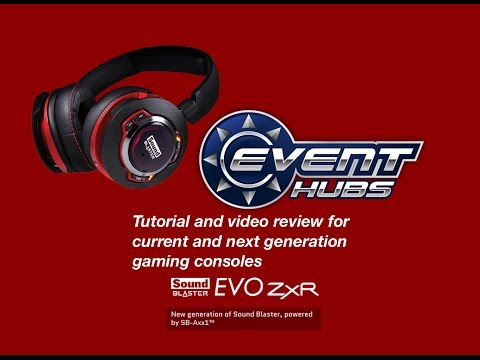 Sound Blaster EVO ZxR Tutorial and Review