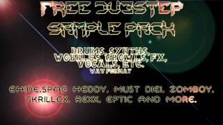 FREE DUBSTEP SAMPLE PACK! - Skrillex, Zomboy, Spag Heddy, EH!DE, Eptic & More (The best)
