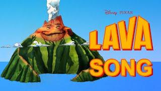 "The Song ""Lava"" Lyrics  - Disney Pixar & ✎ Speed draw ✎"