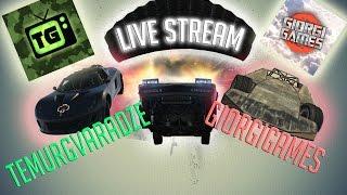 GTA V Live Stream / GiorgiGames & TemurGvaradze