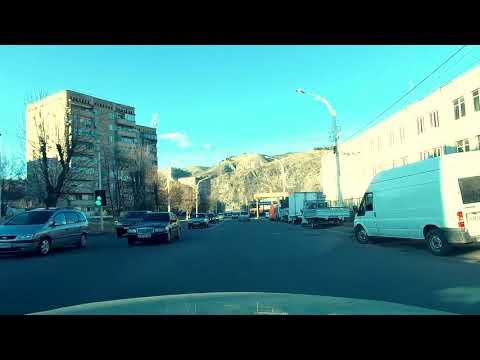 Все дороги Армении - #1. Ванадзор. Поездка по городу