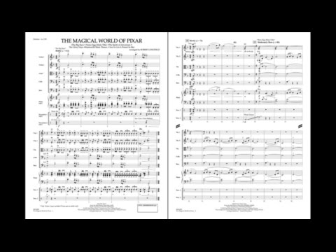 The Magical World of Pixar arr. Robert Longfield