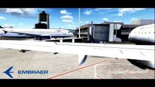 FSX Movie HD | Embraer E-Jets